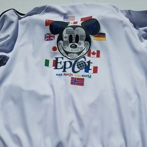 Epcot Disney Parks One Mouse One World Men White T